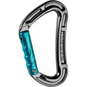 Mammut Bionic Key Lock Carabiner Straight Gate basalt